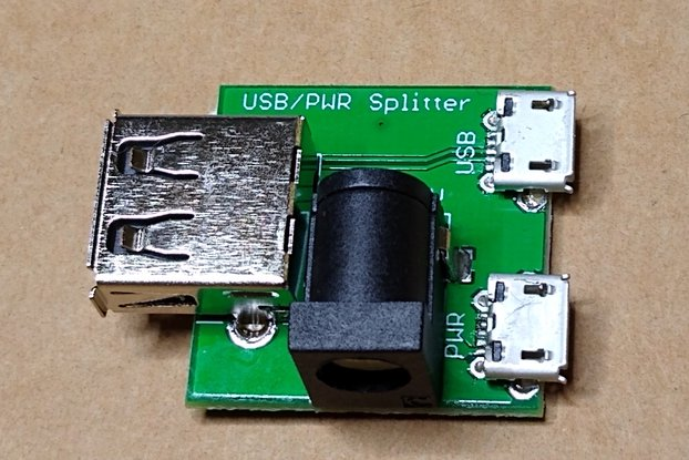 USB/PWR Splitter