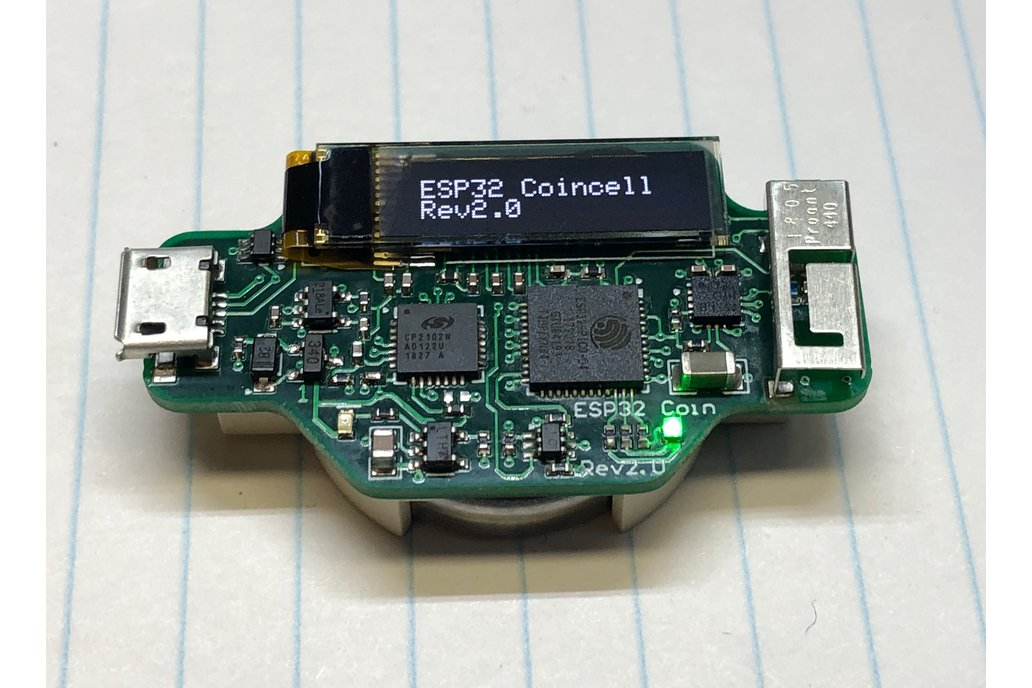 ESP32 CoinCell Rev2.0 1