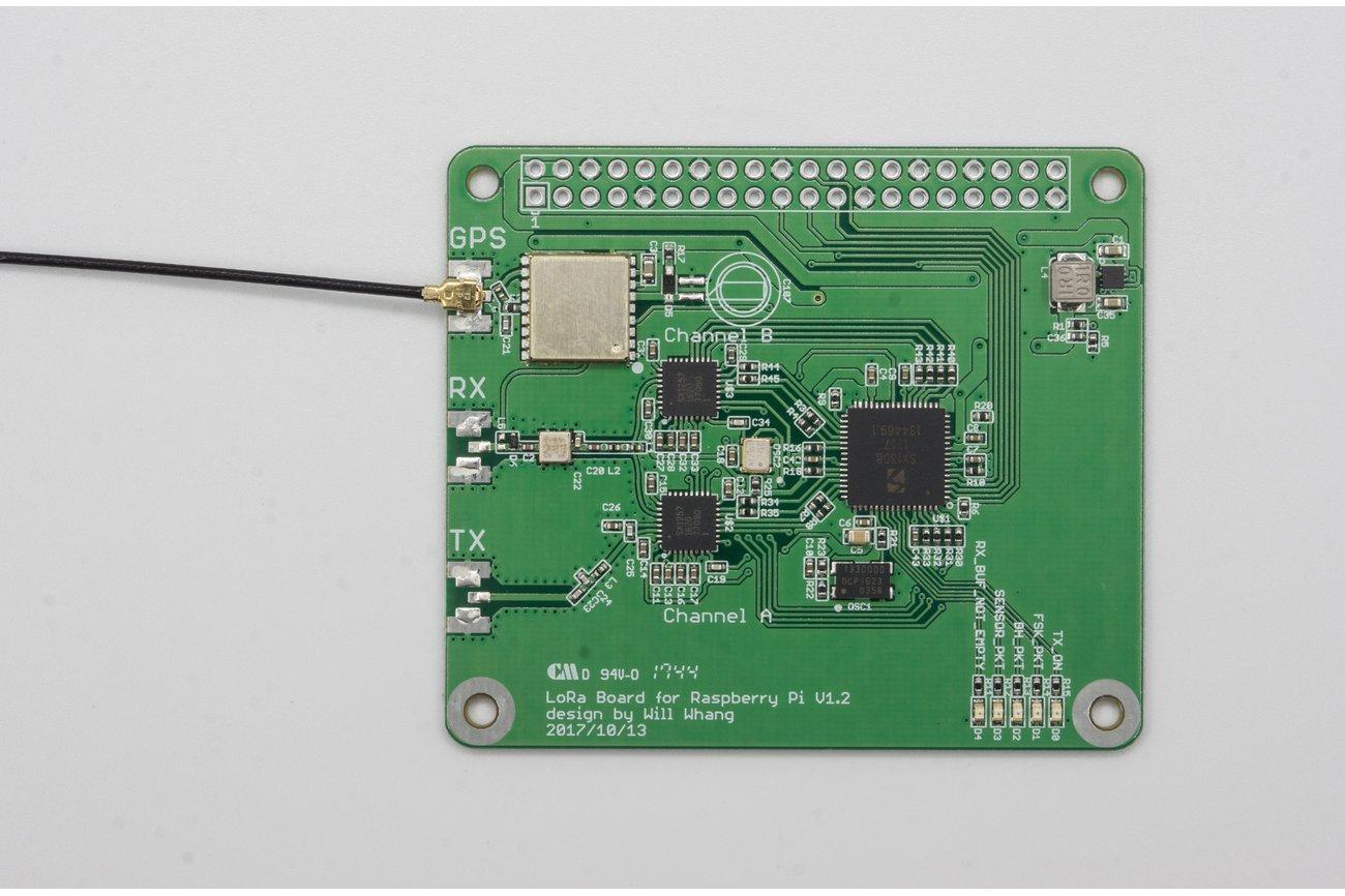 SX1308 Raspberry Pi LoRa Gateway Board