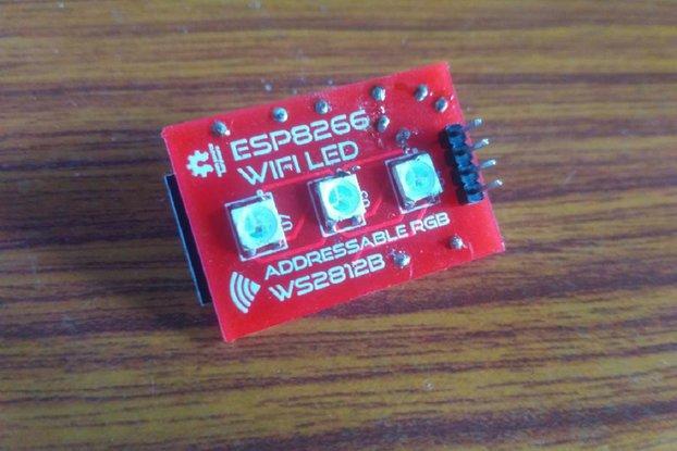 Addressable WS2812B LED Board