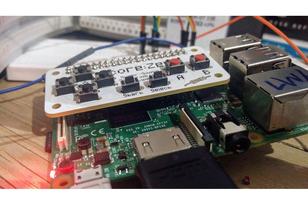 Score:Zero pHAT for Raspberry Pi 5