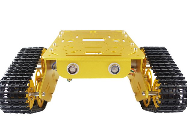 Metal Robot Tank Chassis Track