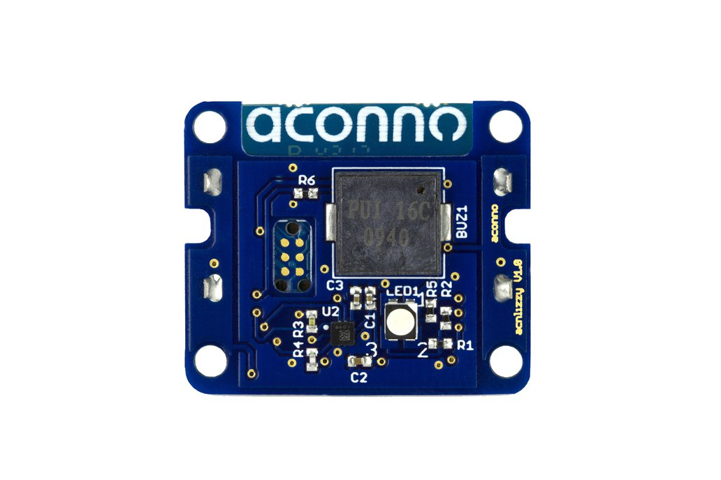 acnFIND: Bluetooth Smart Tag: LED, Sound + Accel