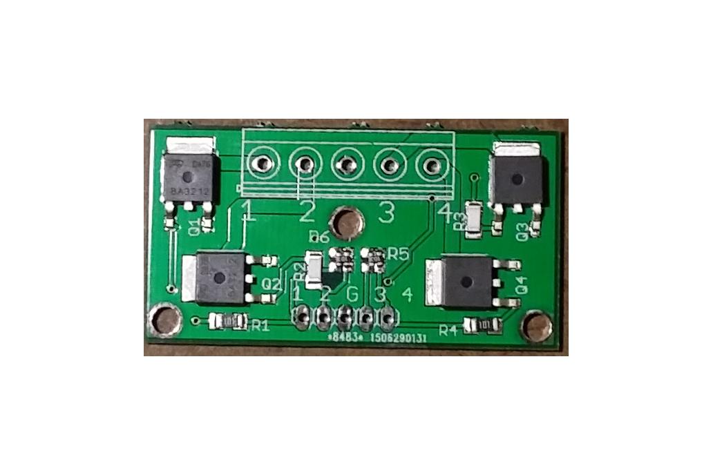 4-CH 2.5V logic level MOSFET, 20Vds 1