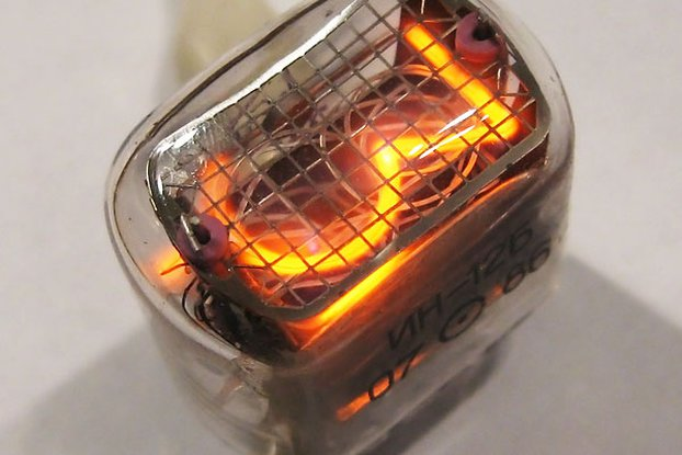 Nixie Clock Tubes IN-12B  set of 6 pcs