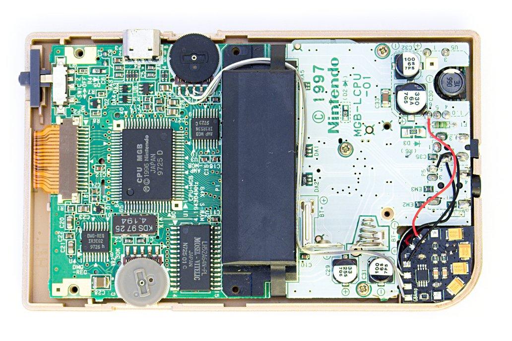 GBAmp3 sound mod for Game Boy 4