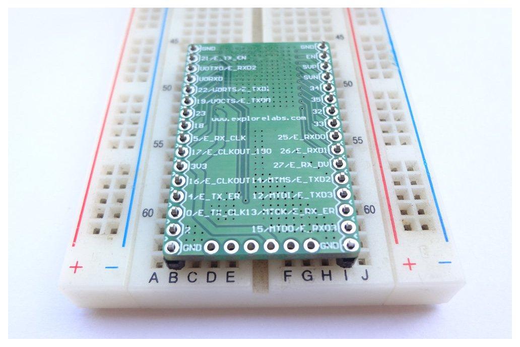 ESP3212 Breadboard Friendly Breakout Board 2
