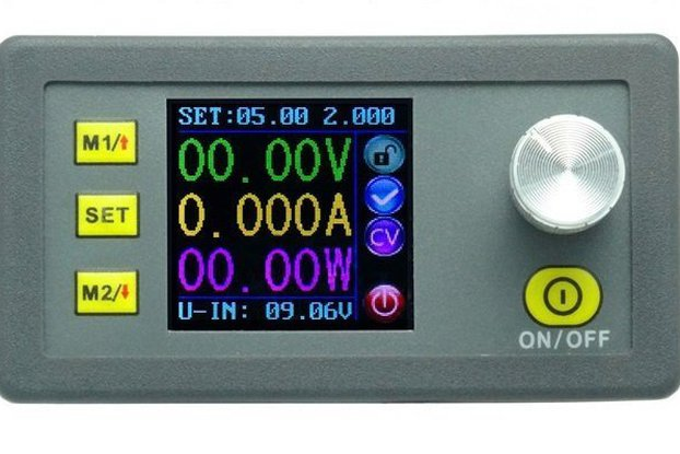 Laboratory programable POWER SUPPLY  w/ color LCD