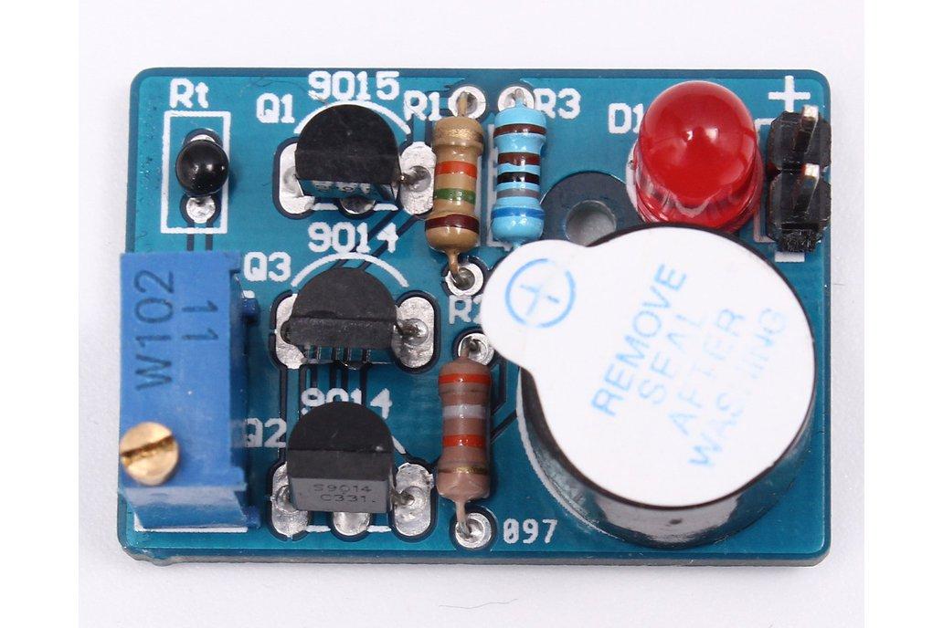 Temperature Control Sound Light Alarm DIY(5425) 3