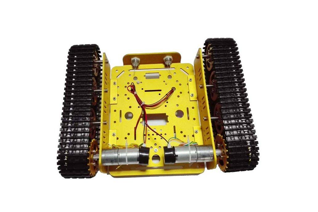 Arduino wifi Metal T200 Crawler Tank 6