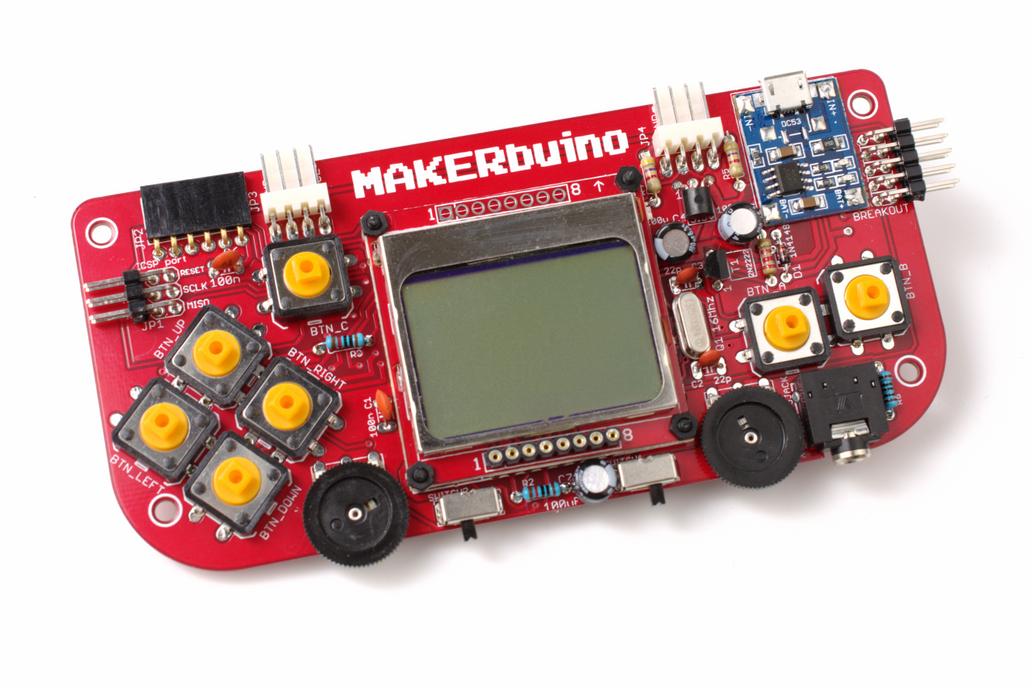 MAKERbuino - a DIY game console 6