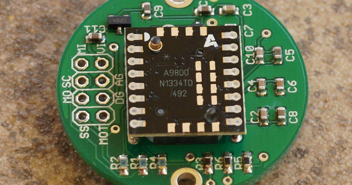 ADNS-9800 Laser Motion Sensor by JACK Enterprises on Tindie