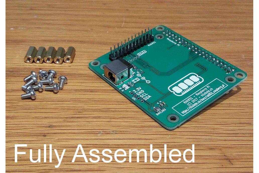 RAK831 Raspberry Pi Breakout/Backplane 4
