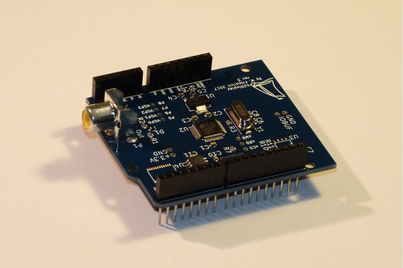 Video Display Shield for Arduino