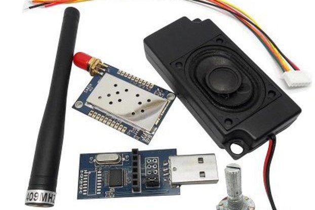 VHF All-In-One Walkie Talkie Module Kit SA828-V