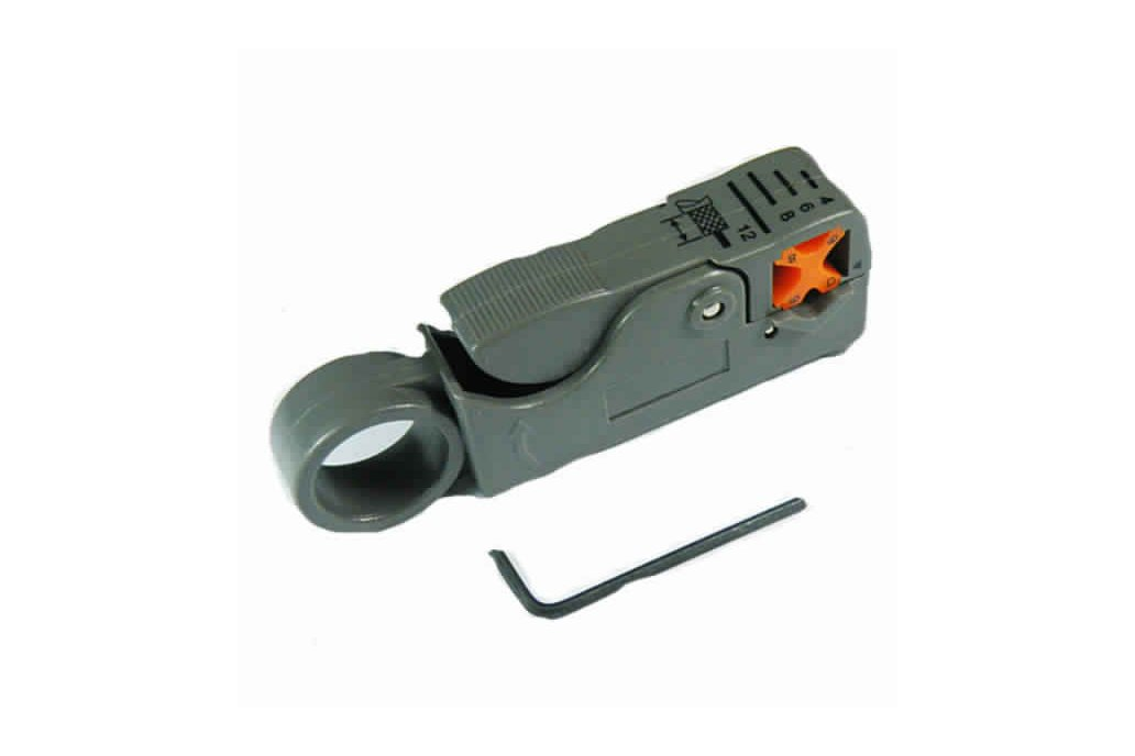 Rotary Coaxial Cable Cutter Tool 1