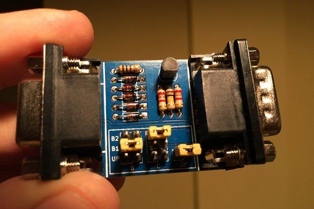 OpenC64MegaDrivePadAdapter V3
