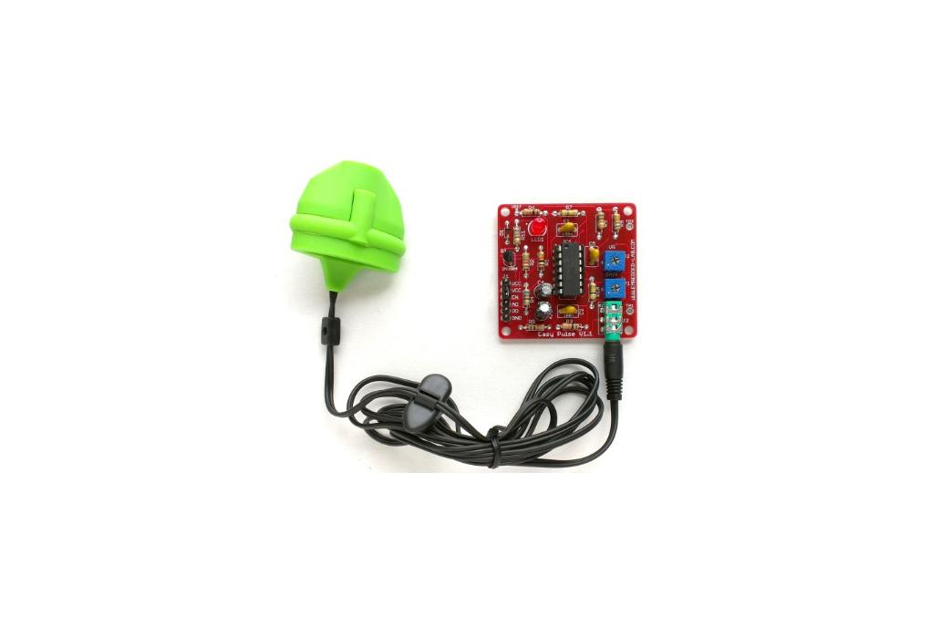 Easy pulse sensor based on photoplethysmography 1
