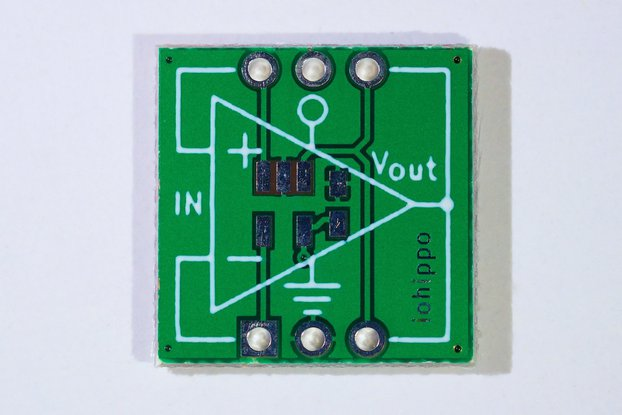 uPED Op Amp Micro - Play, Evaluate, Develop