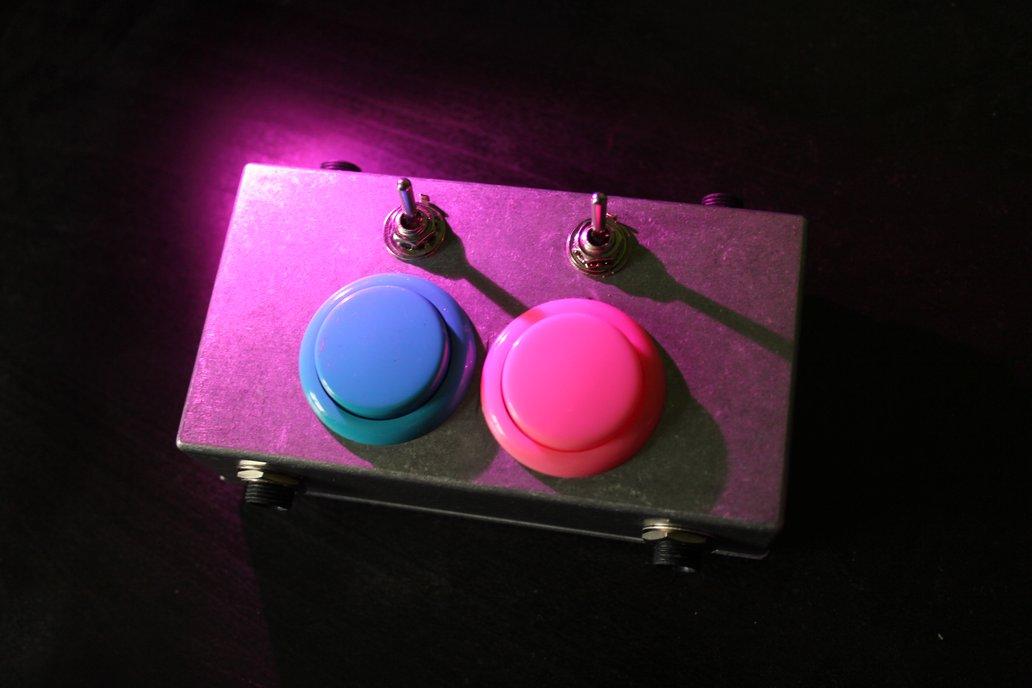 SUPER DOUBLE SMASH BUTTON - Dual Arcade Audio Gate 1