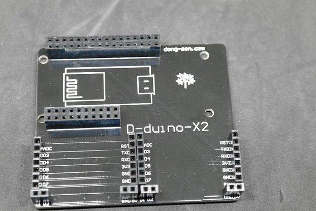 D-duino X2 shield (D-duino & X-project)