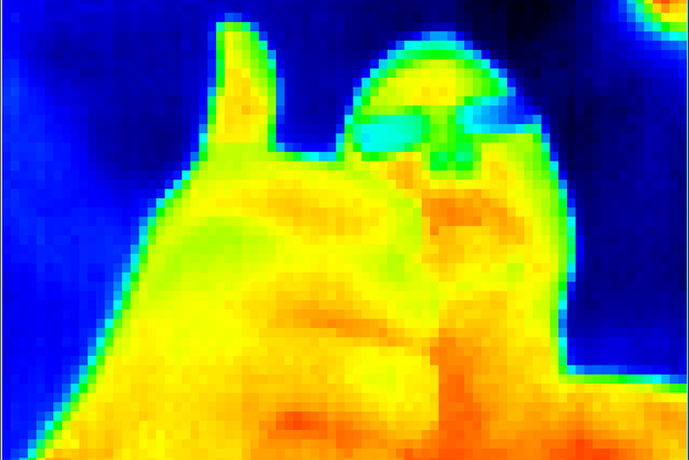 Shuttered Flir Lepton Thermal Camera and Breakout