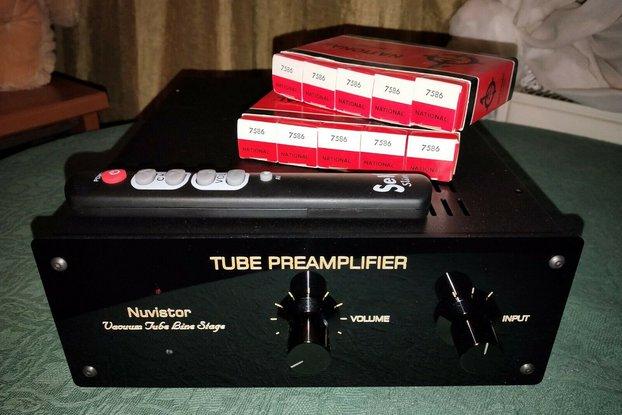 Nuvistor Tube Preamplifier 4x Nuvistor 7586