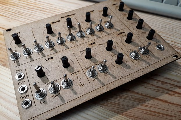 MFOS Sound Lab Mini-Synth - SMT / Eurorack Edition
