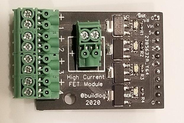 Quad MOSFET CNC I/O module