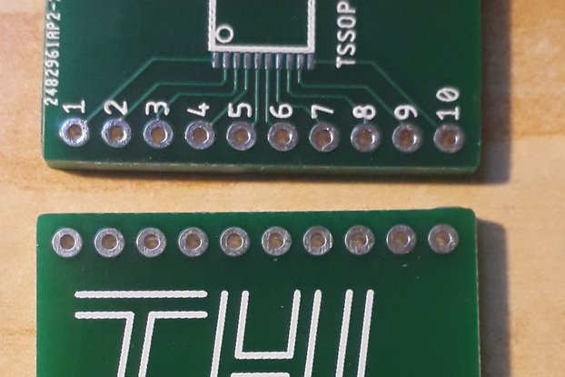 TSSOP20 bread board adapter