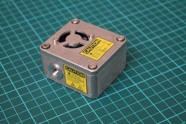 Industrial 445nm 1W (1000mw) BLUE Laser Module