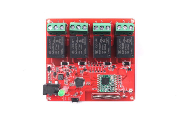 4-Channel Lora Relay 10A
