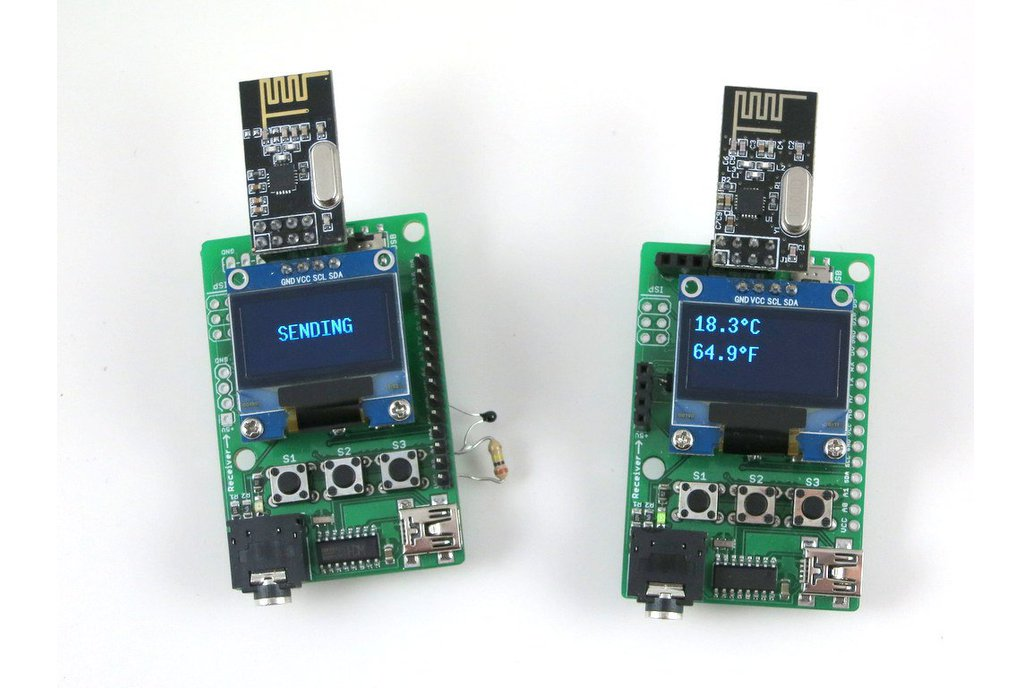 RFToy - Arduino-based RF dev. board, with OLED 1