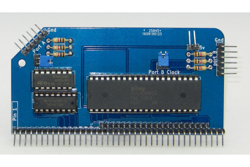 SIO/2 Dual Serial Module for RC2014 1
