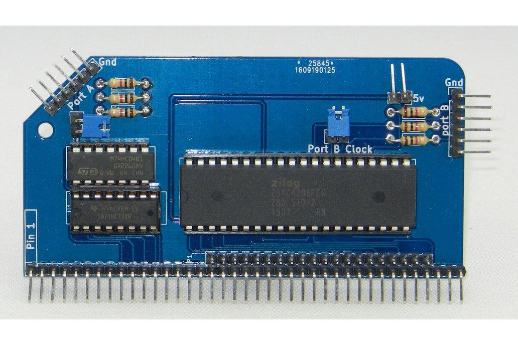 SIO/2 Dual Serial Module for RC2014 1