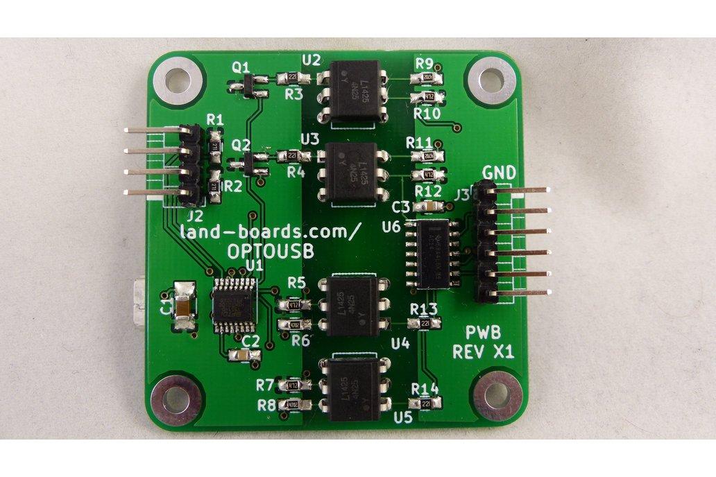 Optically Isolated USB-FTDI Interface (OPTOUSB) 1