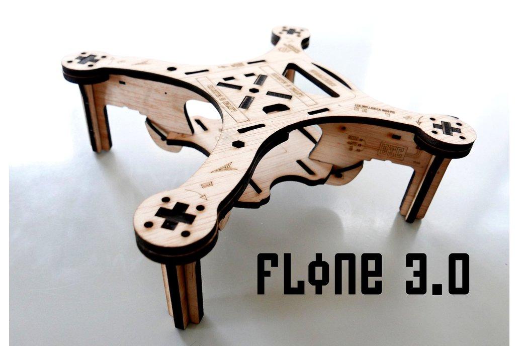Flone 3.0 Drone Wood Frame 1