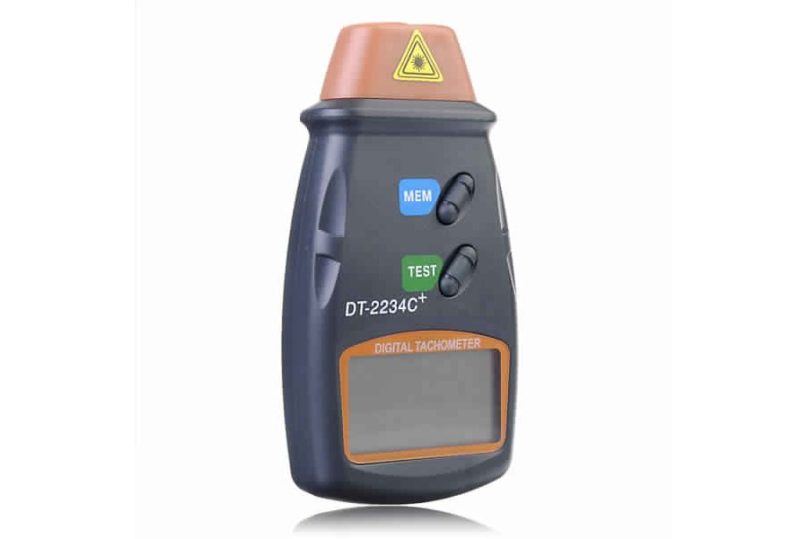 Digital Laser RPM Tachometer