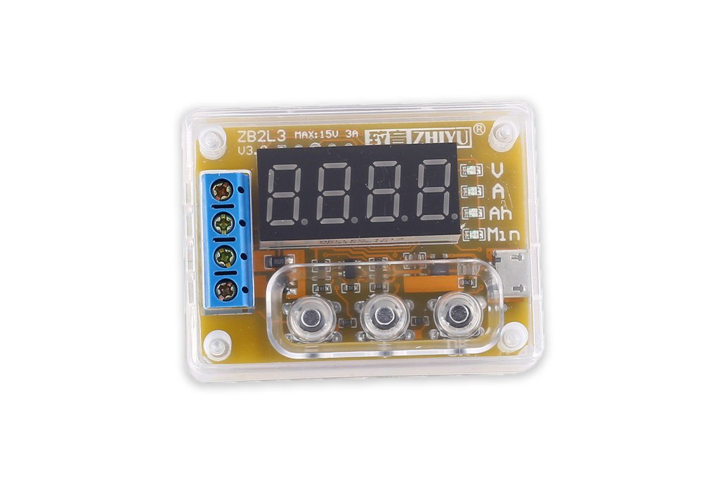 Battery Capacity Tester Voltage Current Indicator 1