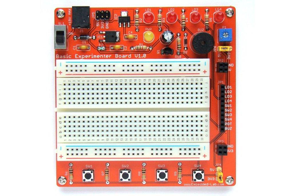 General purpose experimenter board for beginners 2