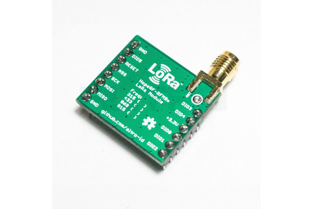 HopeRF RFM9x LoRa Basic Breakout Board