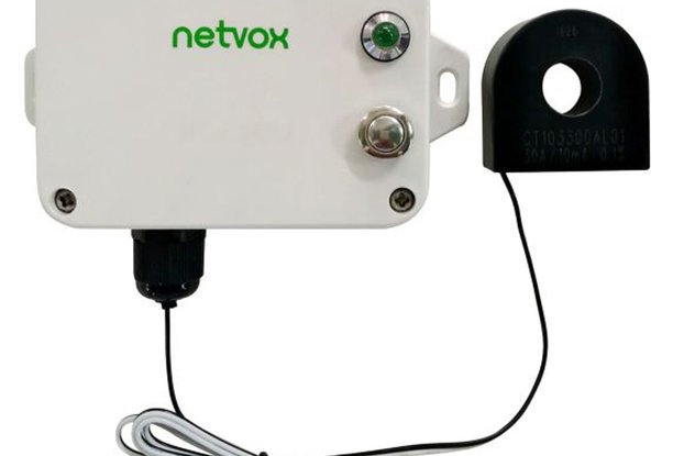 Netvox Solid Core CT 1-Phase Current Meter R718N1