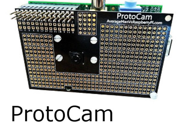 ProtoCam - Raspberry Pi Camera Prototyping Board