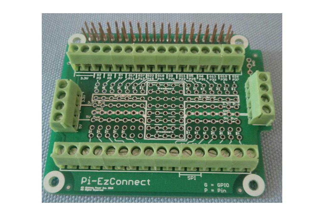 Pi-EzConnect - easy to connect Raspberry  PI GPIO 1