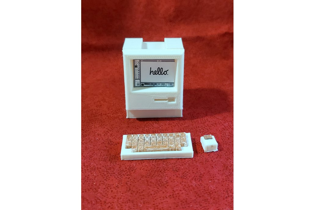 Retro Macintosh 128k Mini Computer -3D printed 1