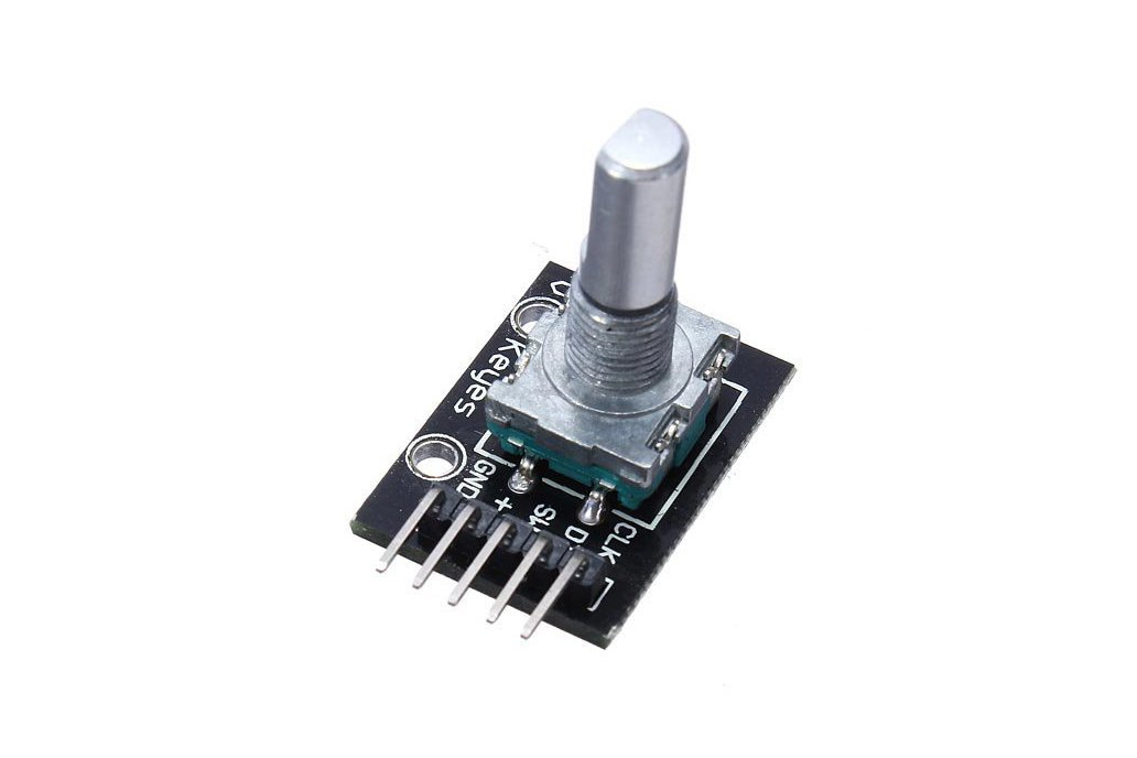 KY-040 Rotary Decoder Encoder Module For Arduino AVR PIC 1