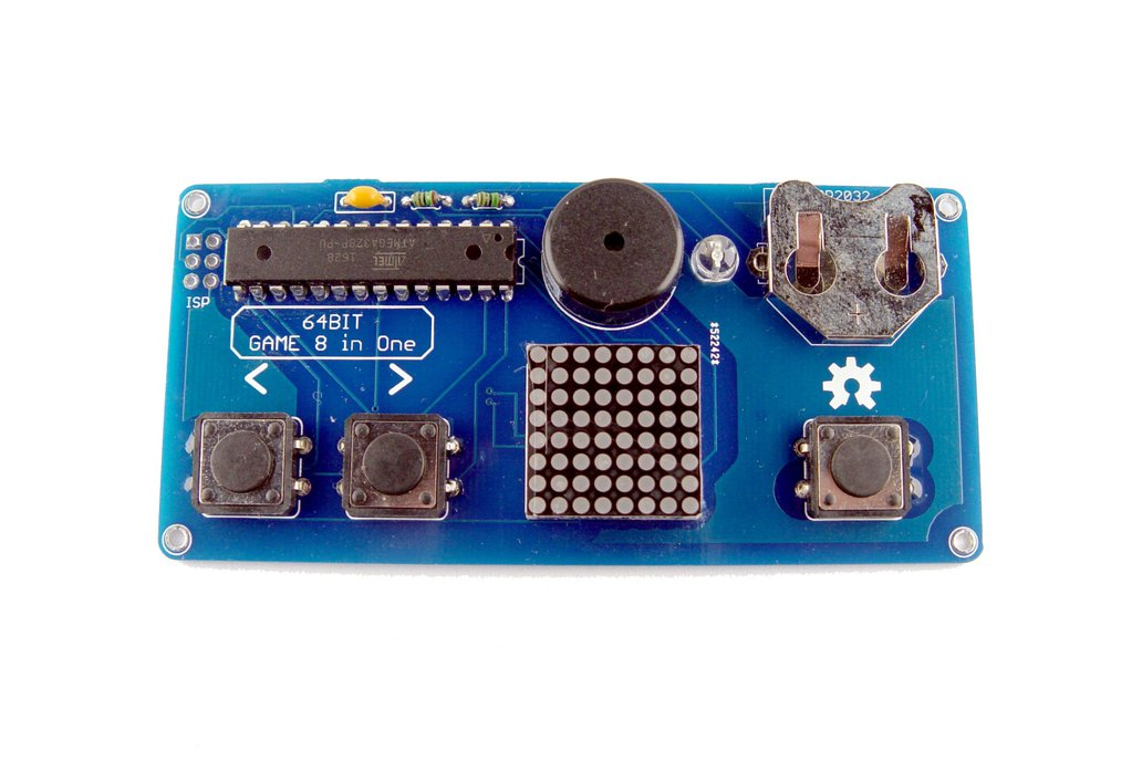 LSP64 - LED 8x8 matrix handheld retro Game console 1