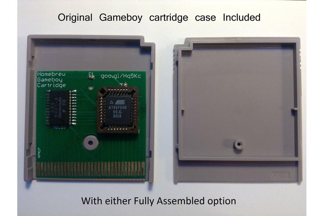 Homebrew Gameboy Cartridge 3