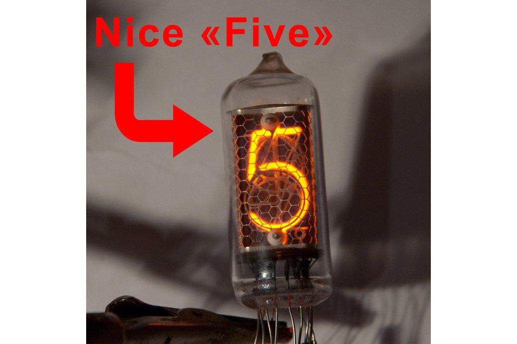 IN-8-2 RARE USSR NIXIE TUBE FOR NIXIE CLOCK 1