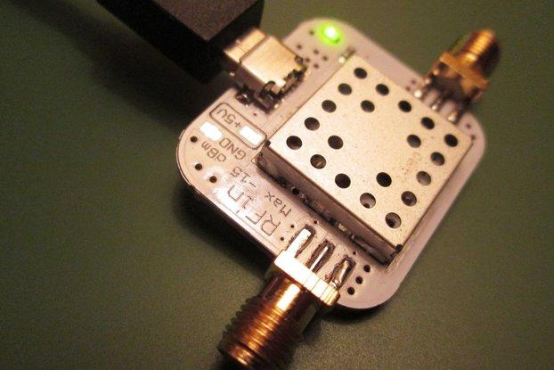 Low Noise Amplifier 10-6000MHz 40dB Gain, 0.8dB NF